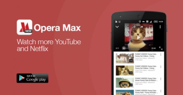 Opera Max дастури Youtube видеотрафигини сиқишни ўрганиб олди
