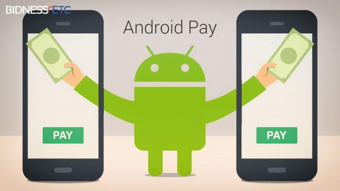 ОАВ: Android Pay 26 августдан ишга туширилади