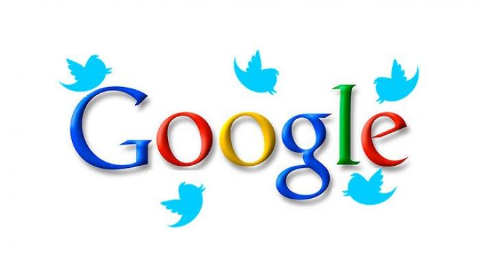 Google ва Twitter қўшма янгиликлар хизматини ишга туширмоқда