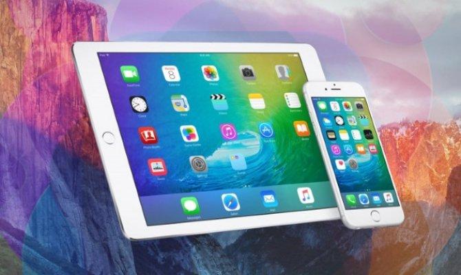 Apple iOS 9нинг якуний версияси юклаб олиш учун тақдим этилди
