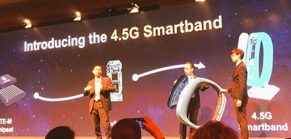 Huawei 4.5G технологиясида ишлай оладиган дунёда биринчи «ақлли» браслетни тақдим этди