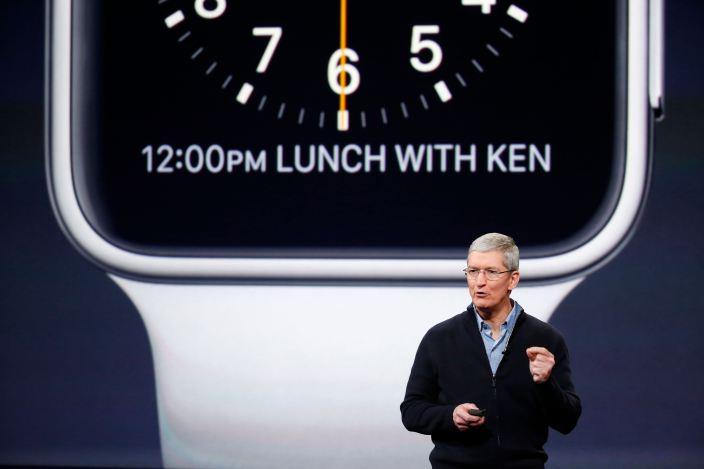 """Apple'ning """"aqlli"""" soatlari 24 apreldan sotuvga chiqariladi"""