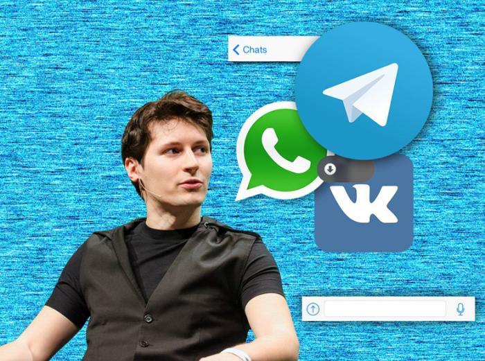 Telegram bosh direktori: WhatsApp Telegram'ga o'xshashi kerak edi, ammo bunga erisha olmadi