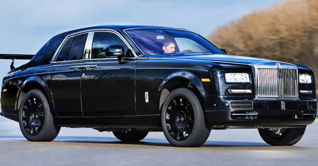 Rolls-Royce yo'ltanlamaslarining birinchi namunasi fotosuratlari internetga joylashtirildi