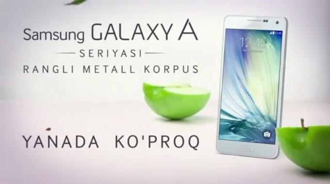 Samsung Galaxy A smartfonlari reklama roligida Apple ustidan kuldi (video)