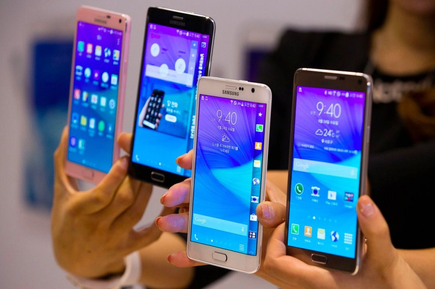 Ertaga Samsung Galaxy S6 va Galaxy S6 Edge smartfonlari sotuvga chiqariladi