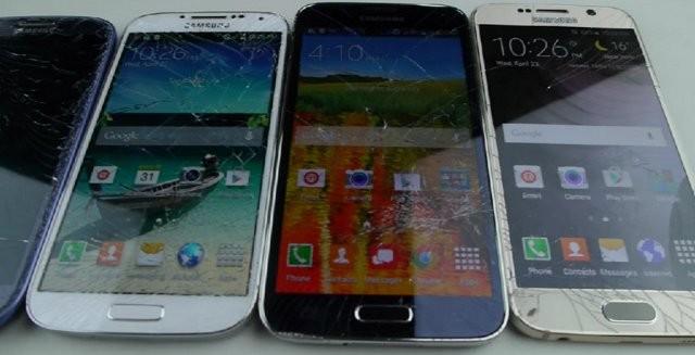 Samsung Galaxy S6 бошқа «акалари» каби мўрт бўлиб чиқди