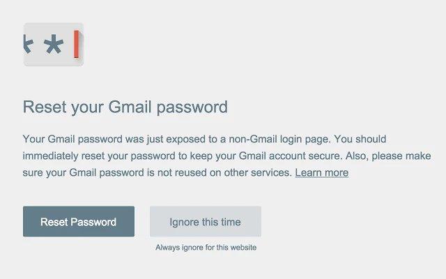 Google компанияси Chrome учун паролнинг ўғирлангани ҳақида хабардор қилувчи кенгайтма чиқарди