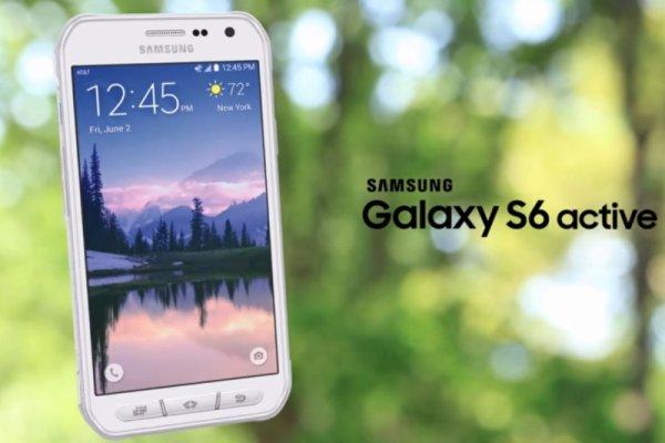 Samsung ҳимояланган Galaxy S6 Active смартфони ҳақида ахборот берди