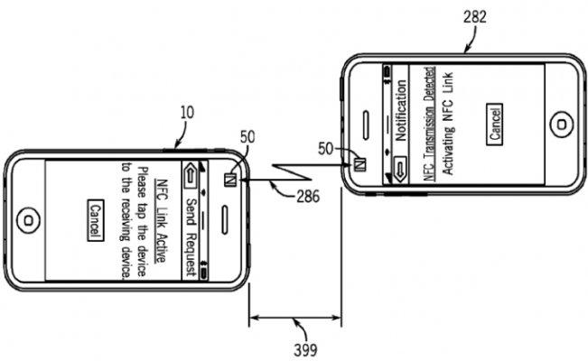 Apple компанияси iPhone смартфонлари ўртасида маблағларни ўтказиш технологиясини патентлаштирди