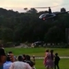 Келинчак кетаётган вертолёт фалокатга учради (видео)