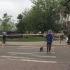 Киев полицияси АҚШ элчихонаси ҳудудидаги портлаш ҳақида хабар берди