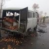 Samarqandda piyoz olib ketayotgan «Buxanka» yonib ketdi