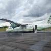 Бразилияда учувчи йўловчи самолётни шассисиз аэропортга қўндирди (видео)