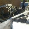 Андижонда сиқилган газ баллони ўрнатилган автомобиль портлади