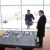 Shavkat Mirziyoyev To'raqo'rg'ondagi issiqlik elektr stansiyasiga bordi