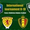 Oʻzbekiston U-18 termasi Fransiya, Belgiya va Shotlandiyaga qarshi oʻynaydi