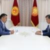 Qirg'iziston prezidenti parlamentning Japarovni bosh vazirlikka tayinlash to'g'risidagi qarorini noqonuniy deb topdi
