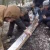 Россияда 6 метрли лўла кабоб пиширилди (видео)
