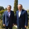 Shavkat Mirziyoyev va Nursulton Nazarboyev Qozog'istonning Sariag'ash shahrida uchrashdi