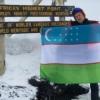 Ўзбек йигити Климанжарони забт этди (видео)