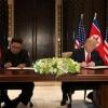 Трамп ва Ким Чен Ин якуний ҳужжатни имзолади
