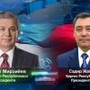 Shavkat Mirziyoyev va Sadir Japarov telefon orqali muloqot qildi