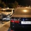 YTH sabab Toyota'da o'tirgan qiz Mercedes ostiga uchib tushdi