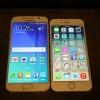 Samsung Galaxy S6 смартфони iPhone 6 билан солиштирилди