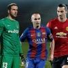 УЕФА йил жамоасига номзод 40 футболчи рўйхатини эълон қилди