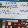 Бир америкалик лотереяда деярли ярим миллиард доллар ютиб олди