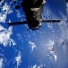 Италиялик астронавт Анлантика океанига метеорит қулаши акс эттирилган видеони интернетга жойлаштирди