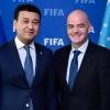 ФИФА президенти Жанни Инфантино Умид Аҳмаджоновни табриклади
