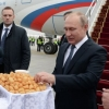 Владимир Путин давлат ташрифи билан Қирғизистонга келди