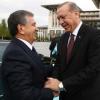 Shavkat Mirziyoyev Rejep Tayyip Erdo'g'onni O'zbekistonga taklif qildi