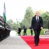 Ko'ksaroy qarorgohida Vladimir Putinni rasmiy kutib olish marosimi o'tkazildi (foto)