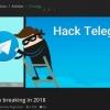 Хакерлар биринчи бор «Telegram»даги маълумотларни ўғирлашди