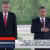 Тошкентда Туркия президенти Ражаб Тоййиб Эрдўғонни расмий кутиб олиш маросими бўлиб ўтмоқда (онлайн трансляция)