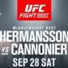 Бугунги UFC Fight Night 160 жуфтликлари билан танишинг