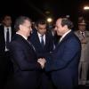 Миср президенти Ўзбекистонга келди (фото)