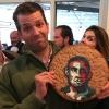 Трампнинг ўғли Обама сурати туширилган печенье-торт сабаб танқидлар нишонига айланди