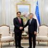 Шавкат Мирзиёев Душанбе шаҳри раисини қабул қилди