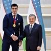Жаҳон чемпионатларида медаль олган 16 нафар спортчига пул мукофотлари берилди