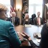 Merkel Ivanka Tramp otasi o'rnini egallashiga munosabat bildirdi
