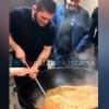 Ҳабиб Нурмагомедов Ўзбекистонда ош тайёрлади (видео)