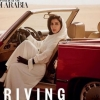 Саудия Арабистони маликаси Vogue муқовасида автомобилда акс этди