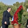 Шавкат Мирзиёев Ислом Каримов хотирасига ҳурмат бажо келтирди (фото)