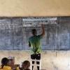 Африкадаги қишлоқда ҳайратланарли информатика дарси (фото)