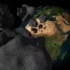 NASA улкан астероиднинг Ерга яқинлашишини кўрсатди (видео)