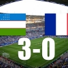 Ўзбекистон – Франция 3:0